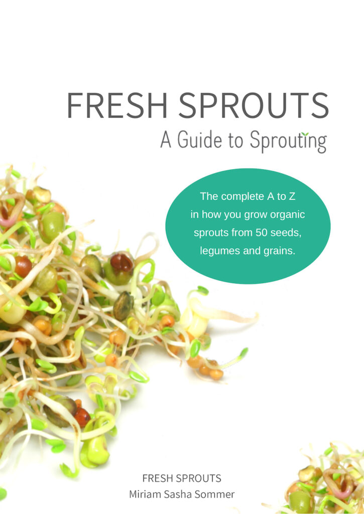 FRESH SPROUTS A Guide to Sprouting cover