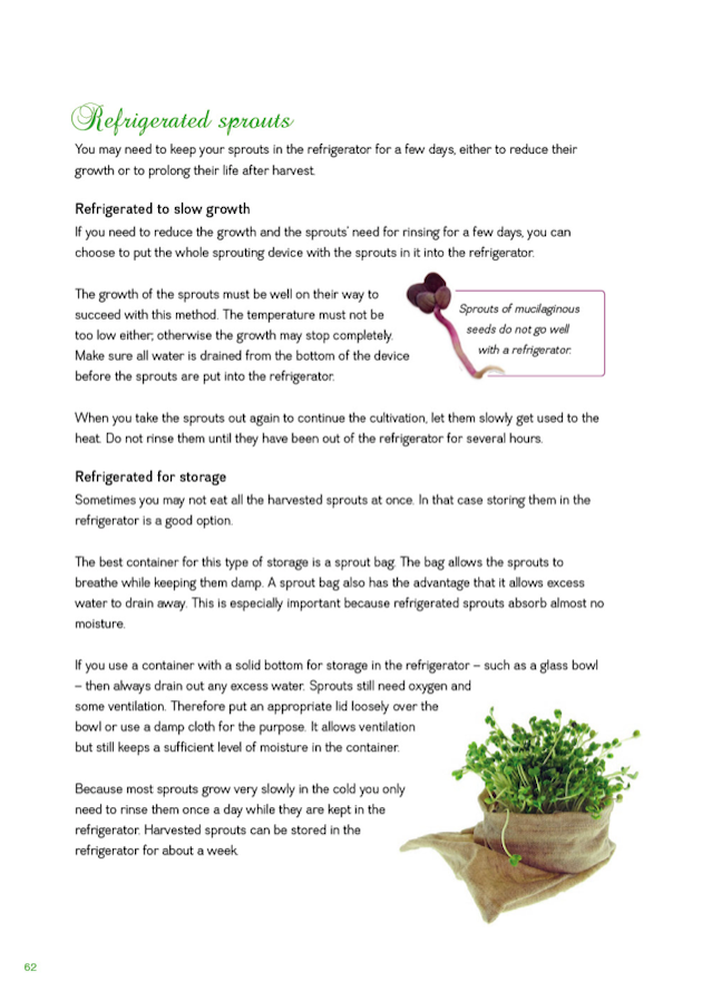 FRESH SPROUTS A Guide to Sprouting page 63