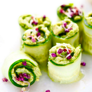 sprouts in any dish cucumber rolls fresh sprouts