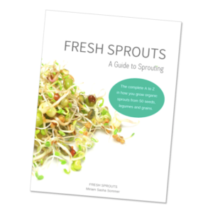 fresh sprouts a guide to sprouting book