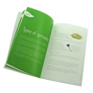 Fresh Sprouts a guide to sprouting printed book