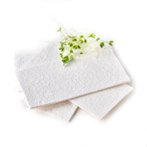 white compressed cellulose sponge biodegradable