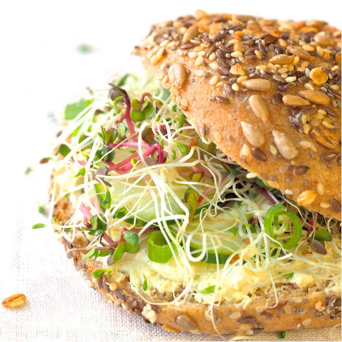 Sprouts in any dish like sandwiches