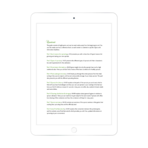 fresh sprouts ebook content