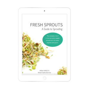 fresh sprouts ebook from miriam sommer