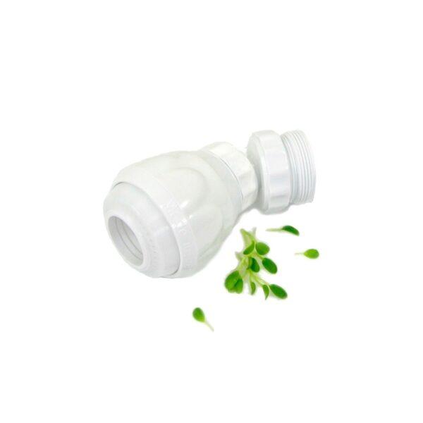 water saving faucet aerator white plast