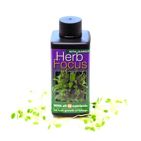 microgreen liquid fertilizer herb focus by growth technology