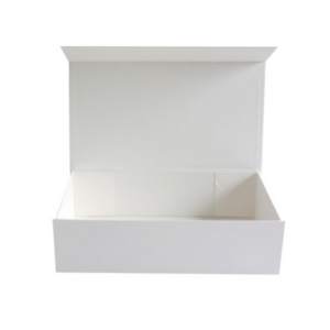 Seed storage box with magnetic flap