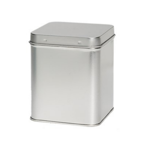 seed storage metal tin