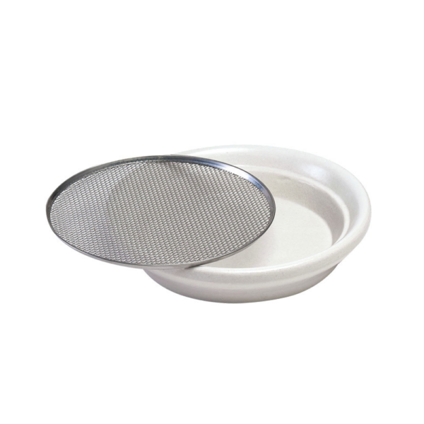 ceramic sprouter tray white